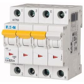 242545 EATON PLSM-C25/3N-MW LEITUNGSSCH. SCHALTER 25A 3P+N 4TE 10KA Produktbild