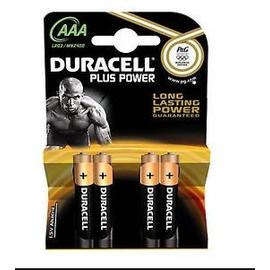 018457 DURACELL MN 2400/K4 MICRO (4STK-BL) PLUS-POWER LR03/AAA RUNDZELLEN Produktbild