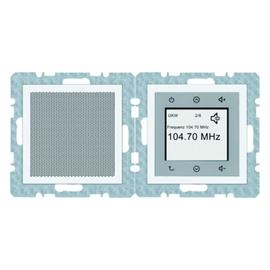 28808989 BERKER UP RADIO-SET TOUCH  8 SENDERSP. S1/B3/B7 GLAS PW GLÄNZEND Produktbild