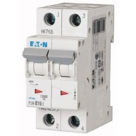 242405 EATON PLSM-C16/2-MW LEITUNGS- SCHUTZSCHALTER 16A 2-POLIG 2TE 10KA Produktbild