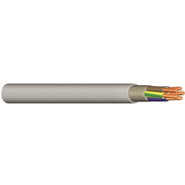 YM-O 2X1,5 grau PVC-Mantelleitung Produktbild