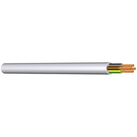 H03VV-F YML-O 2X0,5 weiss PVC-Schlauchl Produktbild