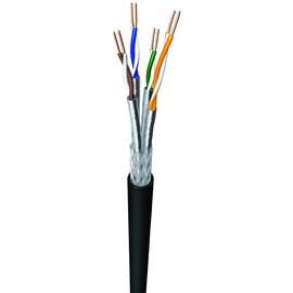 CAT7 UC900SS23/1 4X2XAWG23/1 100m Ring PE schwarz für Erdverlegung UV-beständig Produktbild
