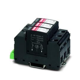 2801164 Phönix VAL-MS T1/T2 600DC-PV/2+ V-FM Überspannab.f.PV-Anlagen 2P Produktbild