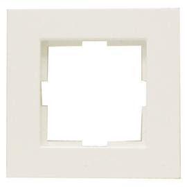 90960260 Viko Rahmen 1-Fach für waagre. od.senkrechte Montage Karre reinweiss Produktbild
