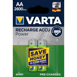 05716101402 VARTA RECHARGE ACCU Power AA (2STK.-BL.)2600mAh Mignon Produktbild