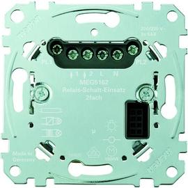 MEG5162-0000 Merten Relais-Schalt- Einsatz 2-fach PL Produktbild