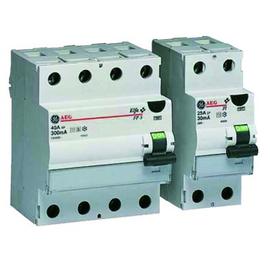 604321 GE FI-Schutzschalter FI40/030-4F 40/4/0,03 Typ A Produktbild
