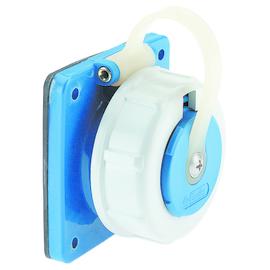 88703586 BALS Schuko WD Blau 7112 Anbau- steckdose eckig Druckwasserdicht IP68 Produktbild