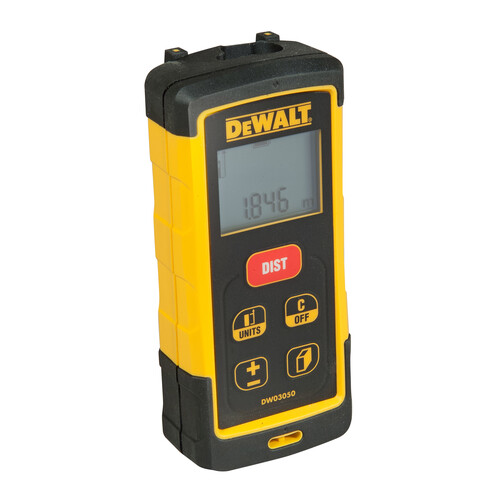 DW03050-XJ DEWALT 50m Laser- Distanzmesser XR Produktbild Front View L