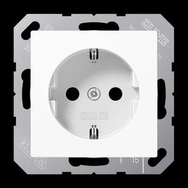 A1520KIWW JUNG SCHUKO-STECKDOSE M. SHUTTER AS500 ALPINWEISS Produktbild