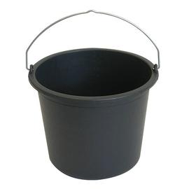 300102 Haupa Baueimer aus Kunststoff 12l mit Tragebügel Produktbild