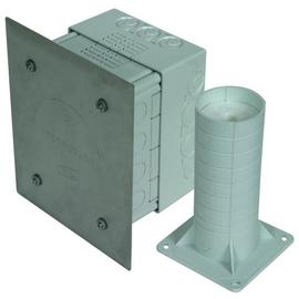 476055 DEHN Trennstellenkasten f. WDV- Systeme 185x145x90mm K-grau Produktbild