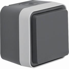 47403515 BERKER W.1 FR AP SSD grau/lichtgrau, matt Produktbild