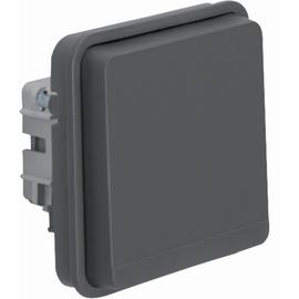 6768803515 BERKER W.1 FR AP SD Einsatz mit Schutzkontaktstift Ap/Up, grau matt Produktbild