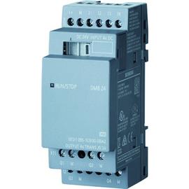 6ED1055-1CB00-0BA2 SIEMENS LOGO! DM8 24 Erw.-Modul, 24V/24V/TRANS., 4 DE/ 4 Produktbild
