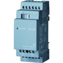 6ED1055-1FB00-0BA2 SIEMENS LOGO DM8 230R Erw.-Mod., 230V/230V/REL. 2TE 4 DE/ 4DA Produktbild