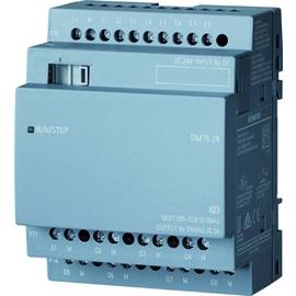 6ED1055-1CB10-0BA2 SIEMENS LOGO DM16 24 Erw.-Mod., 24VDC/24VDC/TRANS 4TE 8DE/8DA Produktbild