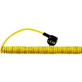 73220861 ÖLFLEX SPIRAL 540 P 3G1,5/600 PUR-Spiralkabel Schukowinkelstecker gelb Produktbild