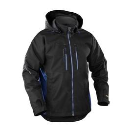489019779985XL BLAKLÄDER Winterjacke wind & wasserdicht, schwarz/blau, Gr.XL Produktbild