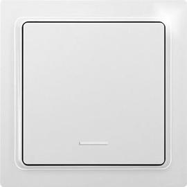 30065595 ELTAKO F1FT65-wg Funkflachtast. mit Wippe, reinweiß glänzend, e-Design Produktbild