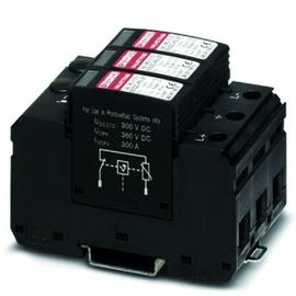 2801163 PHÖNIX VAL-MS-T1/T2 600DC-PV/2+V Überspannungsableiter Produktbild