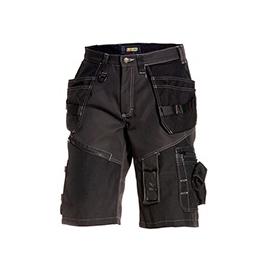 150213109900C54 BLAKLÄDER Handwerker Shorts X1500, sw, Gr.54 Produktbild