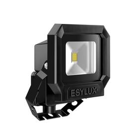 EL10810060 ESY-LUX LED Strahler 10W schwarz 5000K Produktbild