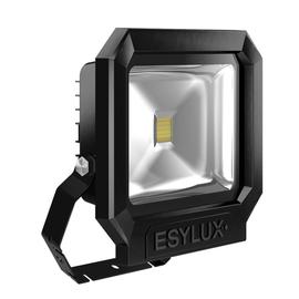 EL10810114 ESY-LUX LED Strahler 30W schwarz 3000K Produktbild