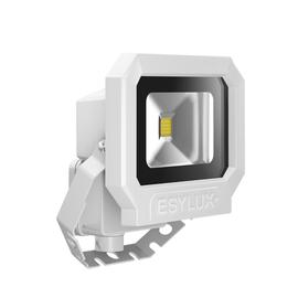 EL10810008 ESY-LUX LED Strahler 10W weiß 3000K Produktbild