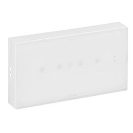 662640 LEGRAND URAONE Sicherheitsleuchte LED, 3h, 100lm, IP42, Autotest Produktbild