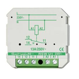 rswu19 SCHALK Schaltrelais 230V AC 1 Wechsl. 16A (UP) Produktbild