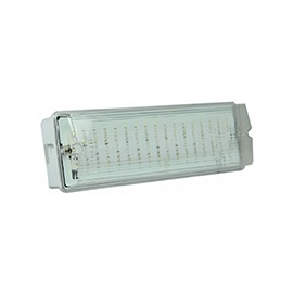 SP-NL-7W-3h-AT Spektra LED Notleuchte LED IP65 3h Auto Test 440lm 7W IP65 Produktbild