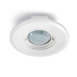 EP10427930 Esylux Deckenpräsenzmelder 360° UP, flach, RW Ø8m, rund, weiß Produktbild