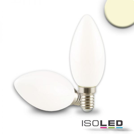 112440 ISOLED LED Kerze Filament E14 4W 335lm 2700K matt warmweiß dimmbarEEI:A++ Produktbild