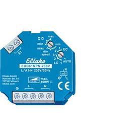 61100802 Eltako EUD61NPN-230V Universal- Dimmschalter Power MOSFET bis 400W Produktbild