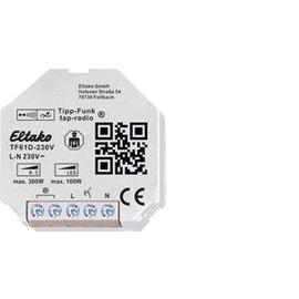 30100033 Eltako TF61D-230V Tipp-Funk Universal Dimmaktor ohne N Produktbild
