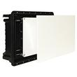 1601 ImanBox Mauerkasten 160x100 mit Doppeldeckel für mauerbündigen Einbau Produktbild