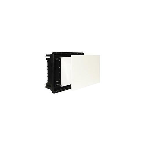 1601 ImanBox Mauerkasten 160x100 mit Doppeldeckel für mauerbündigen Einbau Produktbild Front View L