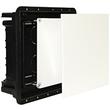 1005 ImanBox Hohlwandmauerkasten 100x100 mit Doppeldeckel f. mauerbündigen Einbau Produktbild