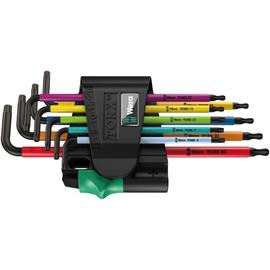 05024335001Wera 967/9 TX BO Multicolour1 Winkelschlüsselsatz, 9-teilig Produktbild