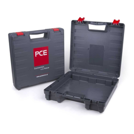 000256 PCE Kunststoffkoffer grau 388x388x110mm Produktbild