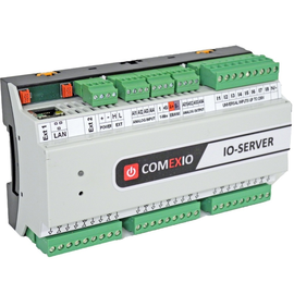 CMS110 Comexio IO-Server KNX, 8x DE 12-230VUC / 9x 16A OUT, 1Wire Produktbild