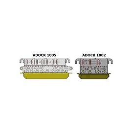 1005 ADock Zählersteckleiste 4-polig 50A (3P+N) Drehstrom mit DUO Anschl. Produktbild