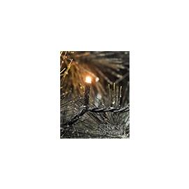 3613-800 KonstSmide Micro LED Lichtkette 200 bernsteinfarbene Dioden,Kabelschwarz Produktbild