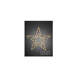 4471-103 KonstSmide LED Acryl Stern mit 8 Funktionen, 48 warm weiße Dioden Produktbild