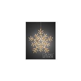 4470-103 KonstSmide LED Acryl Stern mit 8 Funktionen, 90 warm weiße Dioden Produktbild