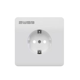 2U-449177 2USB Schukosteckdose JP-8080F easyCharge8080+Handyhalter reinweiß glz. Produktbild