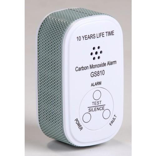 EL-1001 Elro Pro - Mini CO-Alarm - 10 Jahres-Kohlenmonoxidmelder- COSense 9M Produktbild Front View L