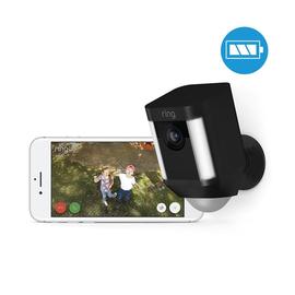4462226 Ring 8SB1S7-BEU0 Überwachungs- kamera WLAN schwarz Batterie Produktbild